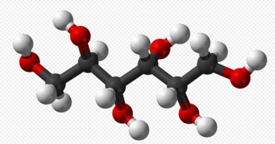 сорбит молекула