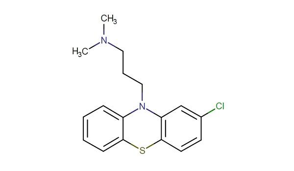 ХЛОРПРОМАЗИН (chlorpromazine) действующее вещество