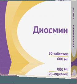 ДИОСМИН таблетки 600 мг