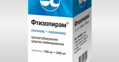 Фтизопирам® (таблетки) 1
