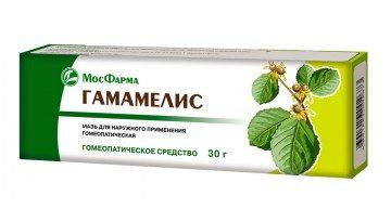 Гамамелис мазь гомеопатическая МосФарма