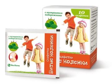 Салфетки Битые коленки МосФарма