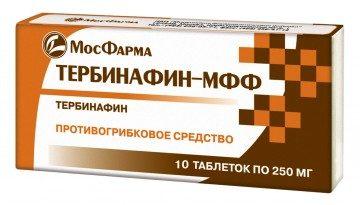 Тербинафин таблетки МосФарма