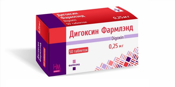 Дигоксин Фармлэнд 0,25 мг