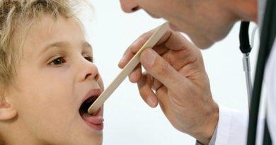 Гипертрофия миндалин у детей