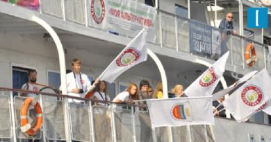 """Лига здоровья нации провела ежегодную акцию """"Волна здоровья"""""""