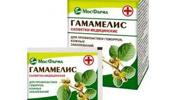 Гамамелис салфетки МосФарма
