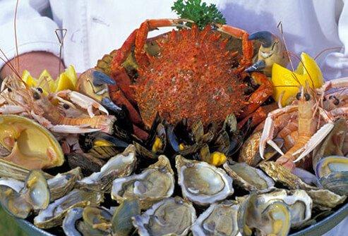 Цинк и моллюски