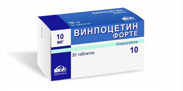 Винпоцетин Форте